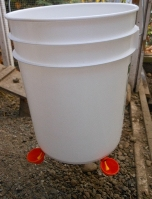 chicken bucket waterer